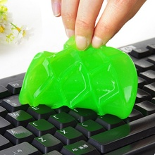 Keyboard Computer Cleaner Soft Sticky Magic Glue Gel Dust Dirt For Laptop Phone Car High Tech Cleaning Compound Gel Color