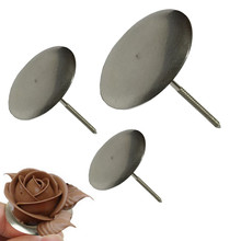 1 set 3 size Stainless Steel Sugarcraft Cupcake Cake Stand Cake Flower Needle Icing Cream Flower Decorating Nail Tool
