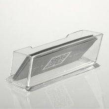 Affordable New Clear Desktop Business Card Holder Display Stand Acrylic Plastic Desk Shelf