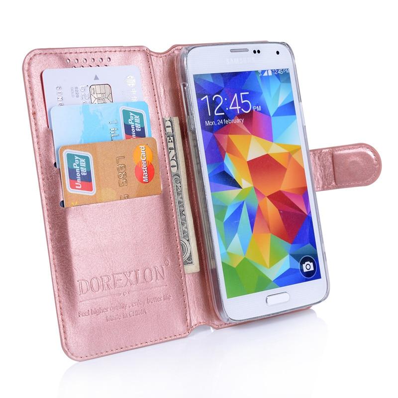 Leather Magnetic Flip Wallet Phone Case