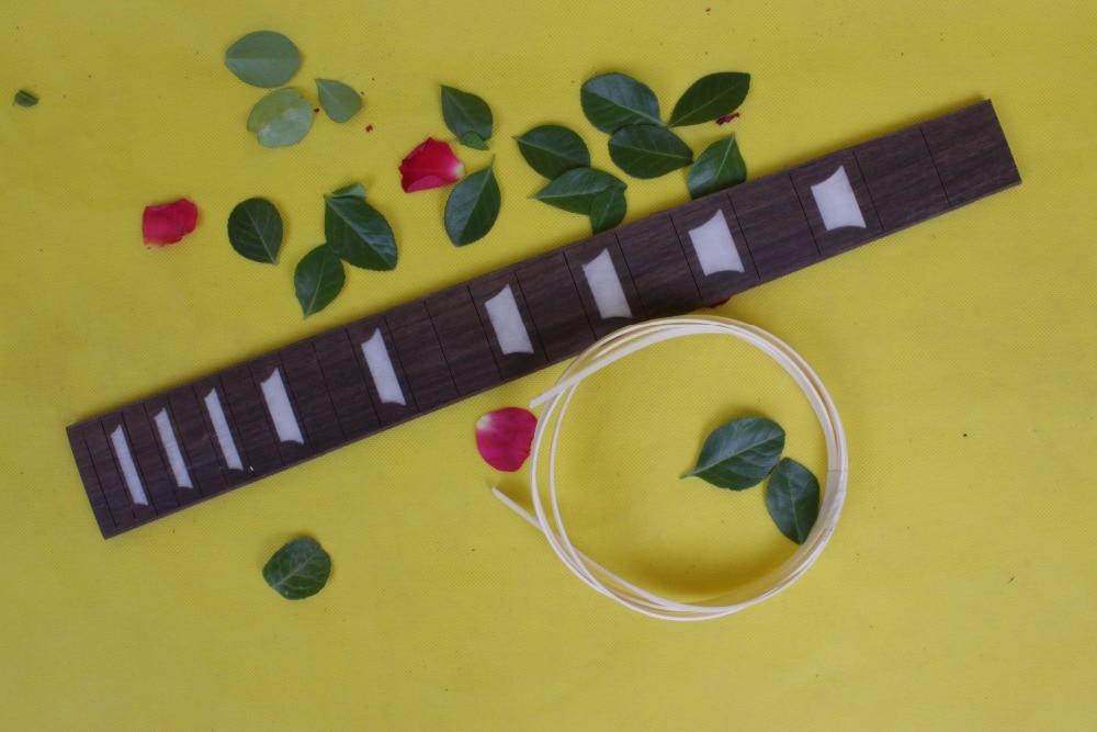 Guitar Accessories  1  x  25.5electric   Guitar Fretboard electric guitar ROSE   Wood Fretboard Parts 00-33# inlay<br>
