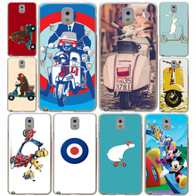 vespa scooter Hard Case Cover for Samsung Galaxy A3 A5 A7 A8 J5 2015 2016 2017 J7 Note 5 4 3 Grand 2 J3 J5 Prime