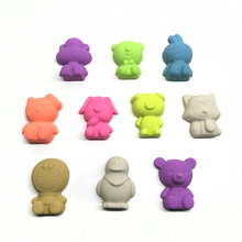 8pcs  monkey dog cat rabbits Play Dough Plasticine Mold Magic beach Sand Mold for Children indoor Play Toy Mould Cartoon DIY Set