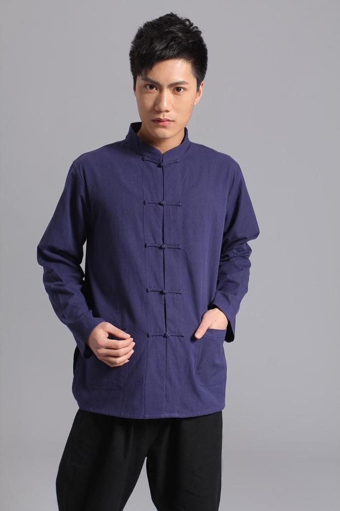 Long-Sleeve-Cotton-Traditional-Chinese-Clothes-Tang-Suit-Top-Kung-Fu-Tai-Chi-Uniform-Spring-Autumn(3)