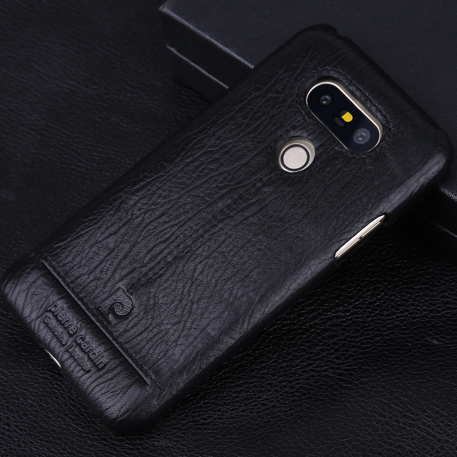 For LG G6 Case Luxury Genuine Leather Hard Slim Cover (10)