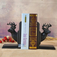 European deer Bookends bookend boys and girls birthday gift book decoration study bookcase bookshelf Decor