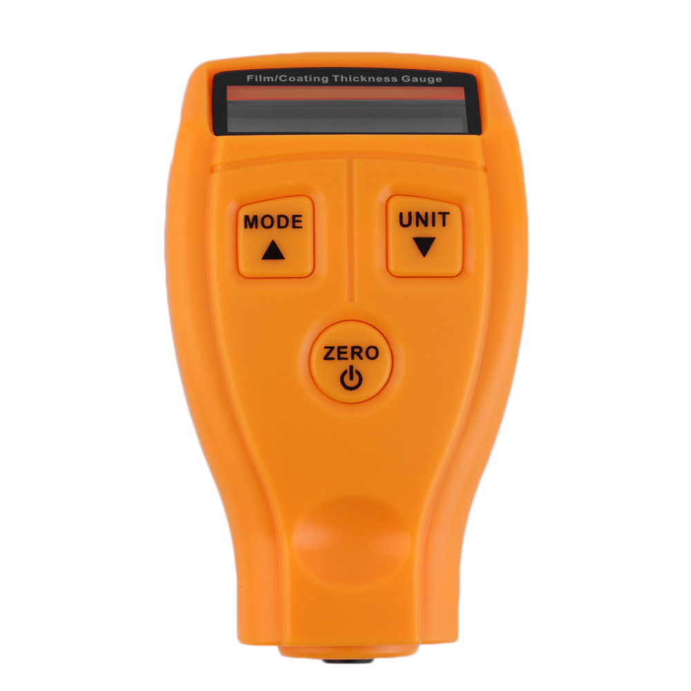 Portable Mini Film Coating Thickness Gauge Digital Automotive Coating Ultrasonic Paint Iron Thickness Gauge Width Measure Meter