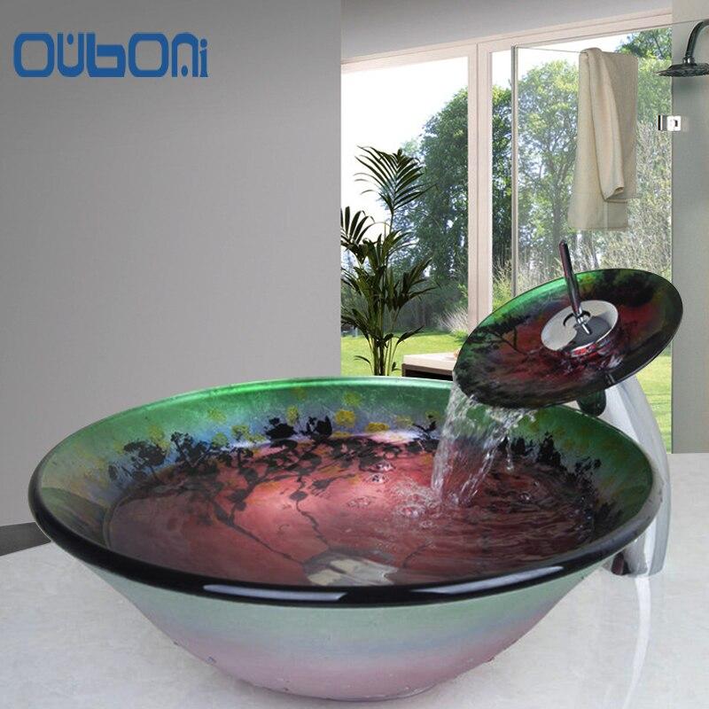 online krijg goedkoop aanrecht glazen wastafel -aliexpress, Badkamer