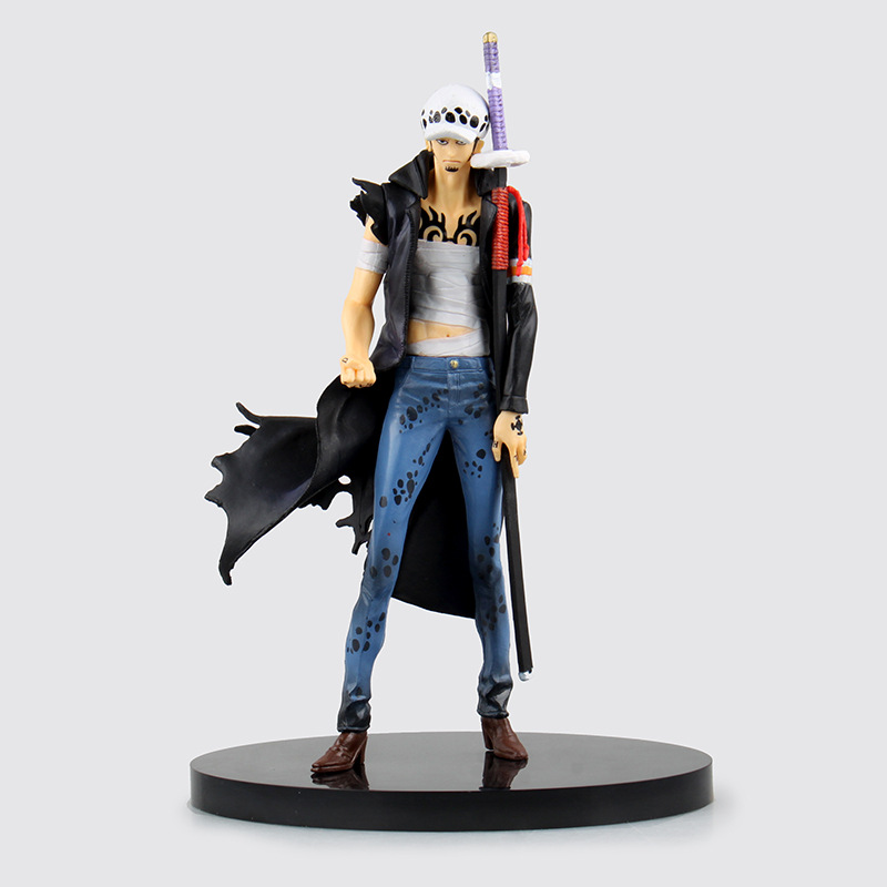 1pcs One Piece Japanese Anime Trafalgar Law Onepiece New World Death Surgeon Action Figure Toys Juguete Bonecos 20cm PVC Model<br><br>Aliexpress