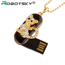 100% real capacity Diamond crystal Cat usb flash drives 4GB 8GB 16GB 32GB USB Flash 2.0 Memory Drive Stick Pen