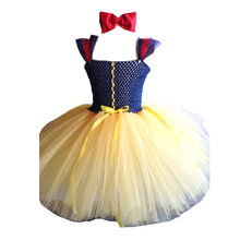 Snow White Baby Tutu Dress For Baby Girl Wedding /Birthday/ Party Tutu Cute Toddler Baby Dress Size Newborn-24M