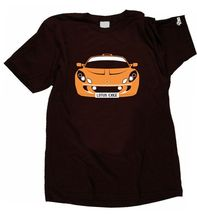 CUSTOM HTees T-shirt - LOTUS EXIGE S1 and S2, Pick car colour & plate, S-XXXL(China)