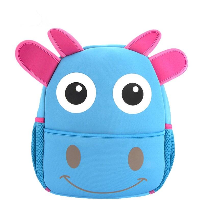 Baby Backpacks for School Waterproof Cow Cartoon School Backpack Bags for Kindergarten Boys Kids Childrens Mochila Escolar<br><br>Aliexpress