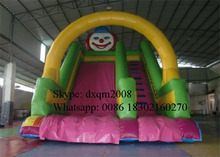 2016 factory OEM inflatable slide for sale/customized inflatable land slide for kids and adults
