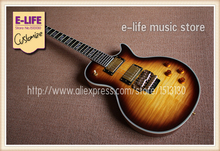 Chinese Music Instruments LP Electric Guitar One Piece Neck Ebony Fretboard Chinese Guitarra In Stock(China)