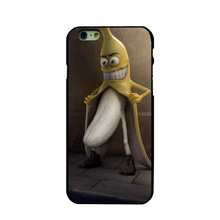 Funny Banana Man  Picture Hard PC Case Cover For Apple iPhone 4 4S 5 5S 5C 6 6S 6 Plus Phone Case Fundas Bags