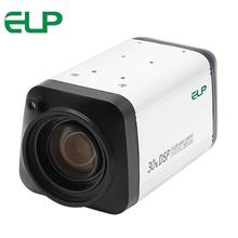 1080P AHD All in one camera 30X 3-90mm zoom lens box Camera WDR Auto IRIS DSP color video Camera(China)