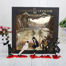 Michael Jackson PVC Action Figures Model MJ Collection Model Toy 12cm Free shipping