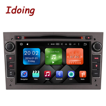 Idoing 2Din Steering-Wheel Android7.1Car DVD Multimedia Video Player Radio For Opel Vectra Corsa D Astra H Car GPS Autoradio MP3