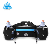 Buy AONIJIE Running Waist Pack Outdoor Sports Hiking Racing Gym Fitness Lightweight Hydration Belt Water Bottle Hip Bag for $10.72 in AliExpress store