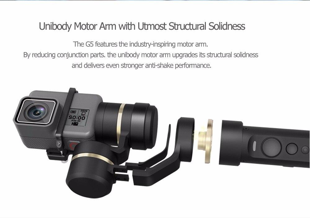 FeiyuTech Feiyu G5 Splash Proof waterproof 3-Axis Handheld Action Camera Gimbal For GoPro HERO 6 5 4 3 3+ Xiaomi yi 4k SJ AEE 12