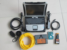 For bmw icom a2 with software with expert mode 500gb hdd with computer cf19 touch screen 4g ready to use diagnostic tool
