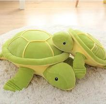 65cm cute turtle pillow cushion down cotton soft plush toy Green Sea Turtles / Tortoise doll for kids gift(China)