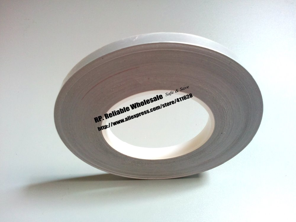 0.078mm thick, (60mm*50M) Insulation Adhesive Mylar Aluminum Foil Tape, Laptop EMI Shielding<br>