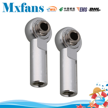 Mxfans 2PCS RC 1:8 & 1:10 Car Alloy M4 Link Rod End Ball Joint Upgrade SILVER D1004