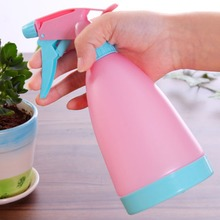 Car multifunctional water pot gardening tools candy colored hand watering can spray bottle fleshy spray(China)