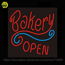 Neon Signs For Restaurant Bakery Open Neon Bulbs Handmade Decorate Room Night Light BEER Pub Display Neon Window Lights Artwork(China)