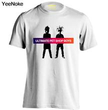 Pet Shop Boys Mens & Womens fashion T shirt Band T Shirts Rock Tee