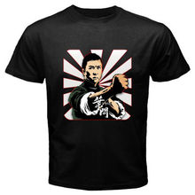 2017 New Arrival Funny Mens Tops Cool O Neck New IP MAN Wing Chun *DONNIE YEN Kung Fu Movie Men's Black T-Shirt Size S to 3XL