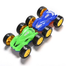 Accompany Children's Growth Enhance The Practical Ability Of Educational Toys Super Inertial Double Dumpers Miniature Toy Car