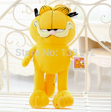 25cm Plush Garfield Cat Plush Stuffed Toy High Quality Soft anime Figure Doll Free Shipping(China)