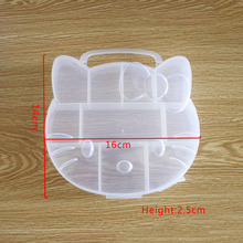 New Arrival 10 Slot Best Organizer Storage Plastic Adjustable Tool Beads Bins Packaging Box Jewelry findings Display PBB010(China)