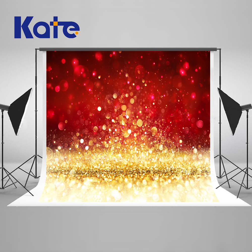 Kate Red Gold Photography Background With Shimmer Wedding Photo Background Photography Backdrop Digital Backgrounds<br>