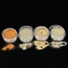 4Pcs/set Mixed Colors Glitter Eyeshadow Powder Pigment Mineral Spangle Makeup Cosmetic Set Long-lasting 2017 Hot Sale