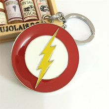 jewelry The Avengers Euramerican Style The Flash Series Around The Film And Television Keychain For Keys Trinket Key Holder