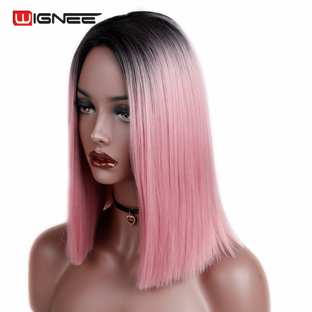 Straight Hair Synthetic Wig (5)