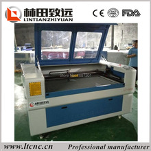 CO2 laser cutting machine 80W 1390 Laser cutting machine for plexigalss, colth, leather, photo engraving, bamboo