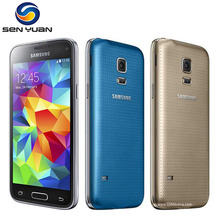 "Original Unlocked Samsung Galaxy S5 mini G800F Quad Core 8.0MP Camera 4.5"" Touch Screen 16GB ROM s5 mini cell phone"