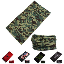 Outdoor Magic Scarf Camouflage Caps Seamless Bandana Bicycle Motorcycle Scarves Multifunctional Cycling Headband Headwear(China)