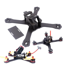 Newest DIY Mini Drone FPV QAV-X 214mm Cross Racing Quadcopter With 4mm Arms for QAV-X Pure Carbon Fiber(China)