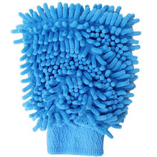 Super Mitt Microfiber Car Window Washing Home Cleaning Cloth Duster Towel Glove3