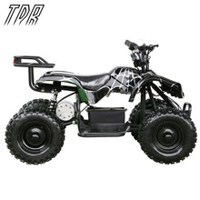 TDR Children 24V 500W Black Electric Ride On Mini Quad ATV Black Buggy Cool Off-road Go Karts HHY(China)