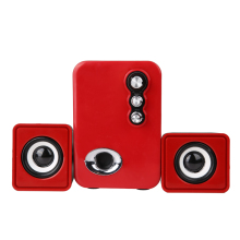 Home Theater Party Computer Loundspeaker USB&3.5mm Audio Interface Subwoofer 2.1 Multimedia 3D Stereo Sounds Speaker