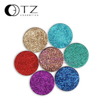 OutTop  1.5g Makeup Base Shimmer Glitter Eye shadow Pressed Powder Pigment Eye Makeup Cosmetics Vibrant A 2017 July20