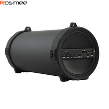 89mm Big Power Surper Bass Outdoor Bluetooth Speaker Wireless Sports Portable Subwoofer Handfree Bike Car Speakers Radio FM Mic