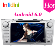 1024*600 GLONASS android car gps navigation car dvd  for Toyota camry 2008 2009 2010 2011 with 4g WiFi radio bluetooth 2 din